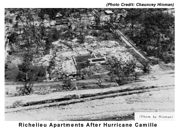 What year was hurricane camille